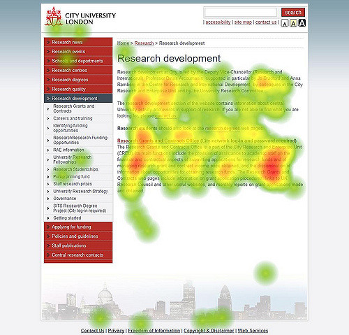 heatmap hjemmeside