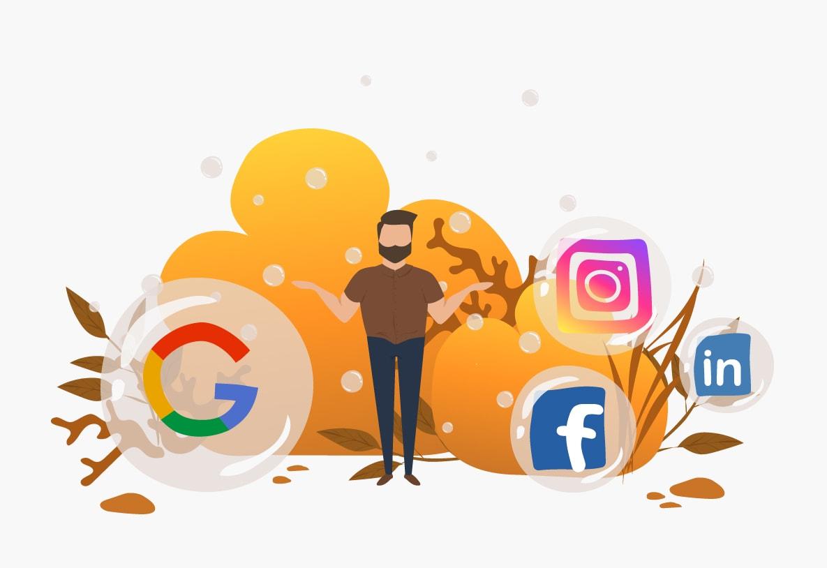 Hvad er bedst for dig: Google vs. Sociale medier?