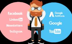 infografik google vs fb