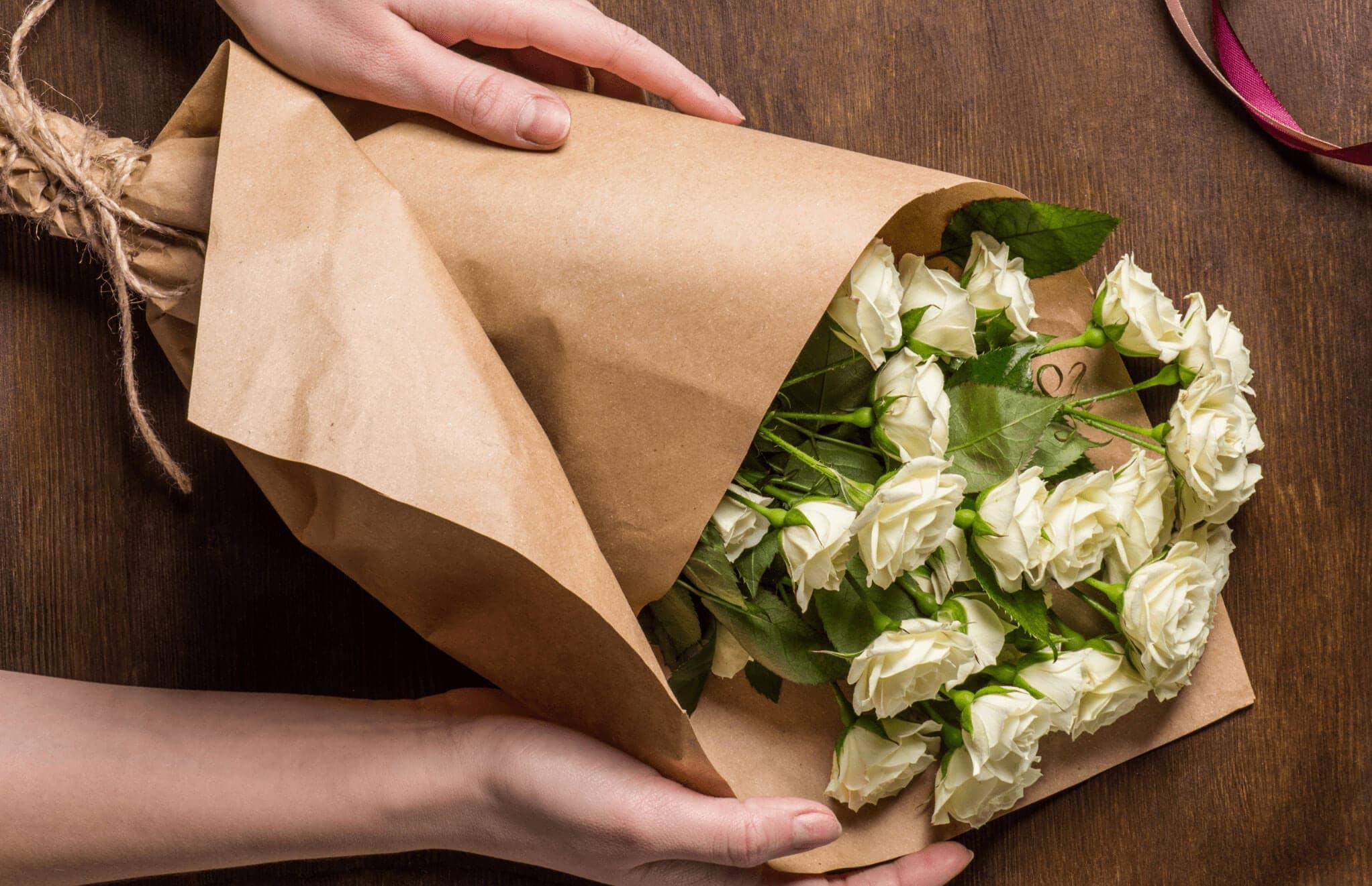 bloomit sælger smukke blomster