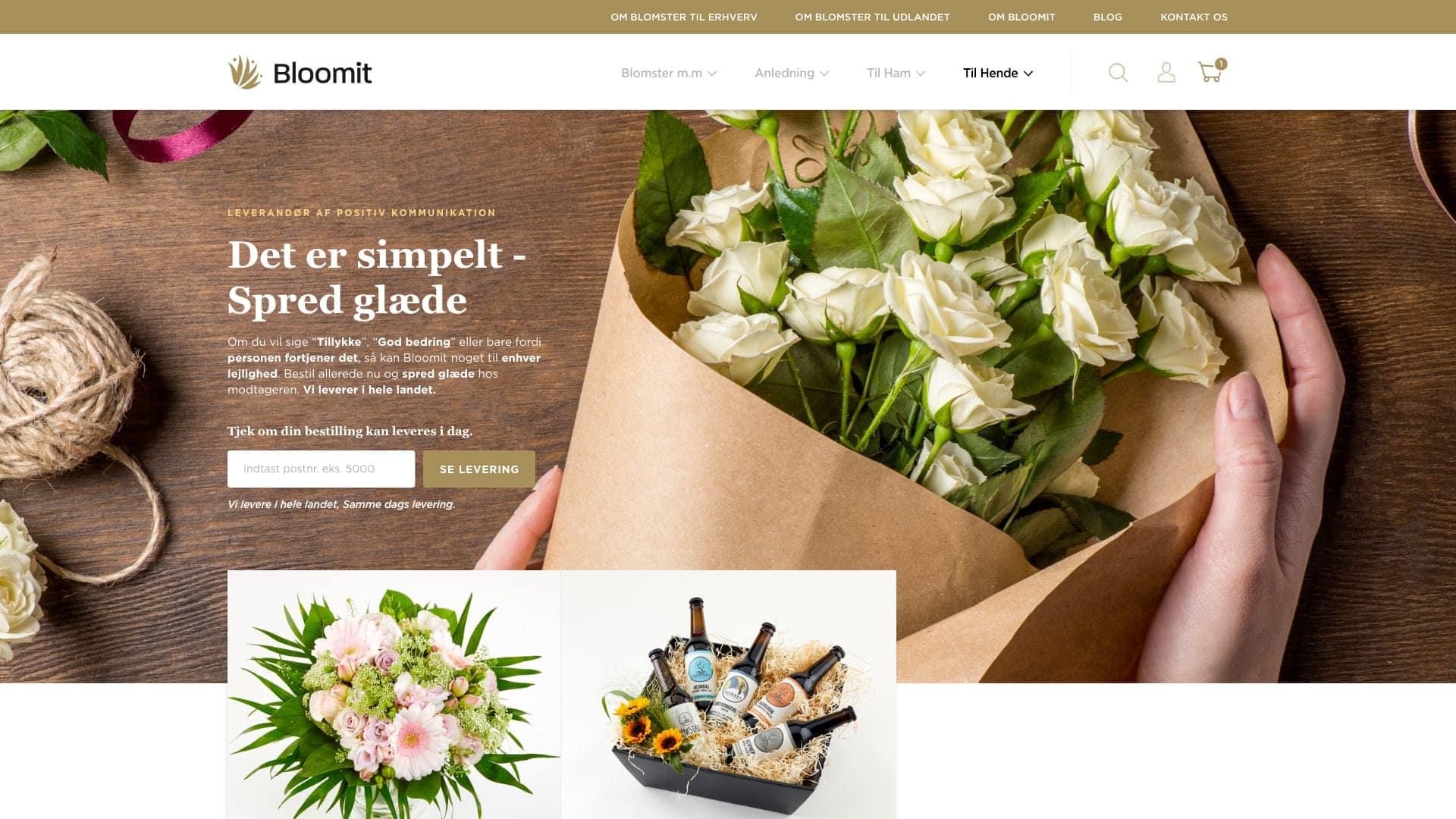 bloomit page eksempel