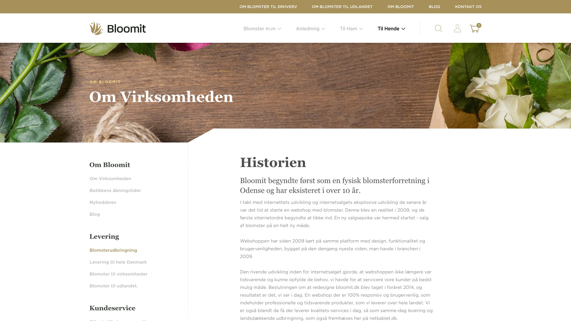 bloomit website eksempel