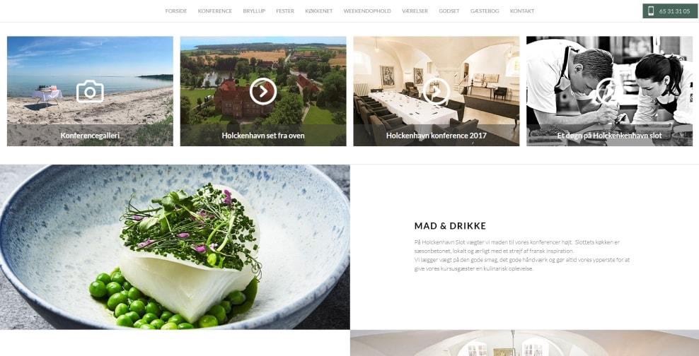 hjemmeside design på første klasse