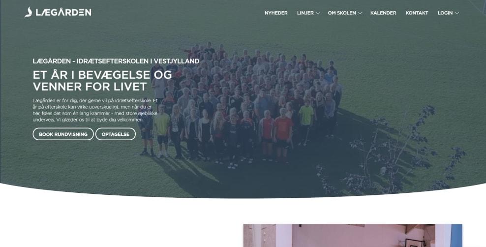 lægården hjemmeside