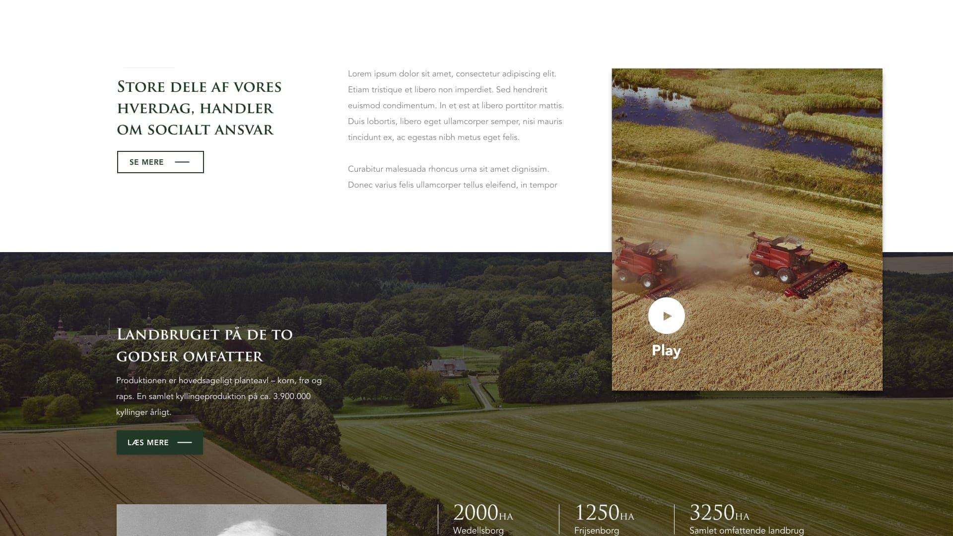 website båret af billeder