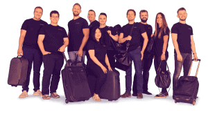 solidt team med overblik på hele din rejse