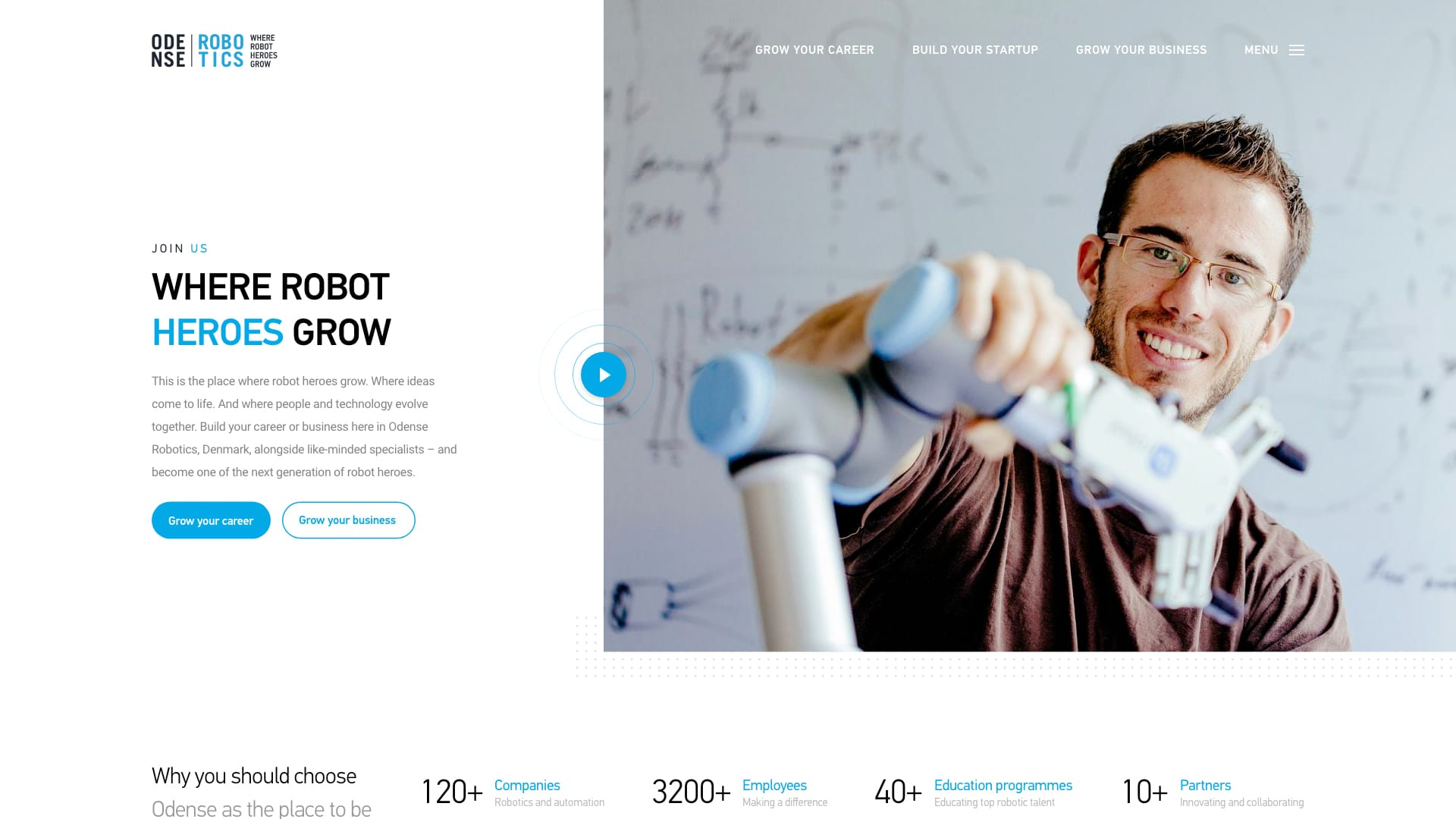 odense robotics website