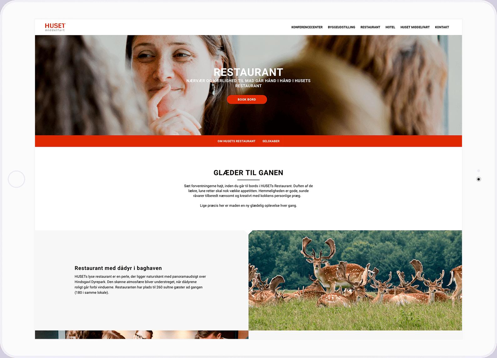 huset middelfart hjemmeside eksempel