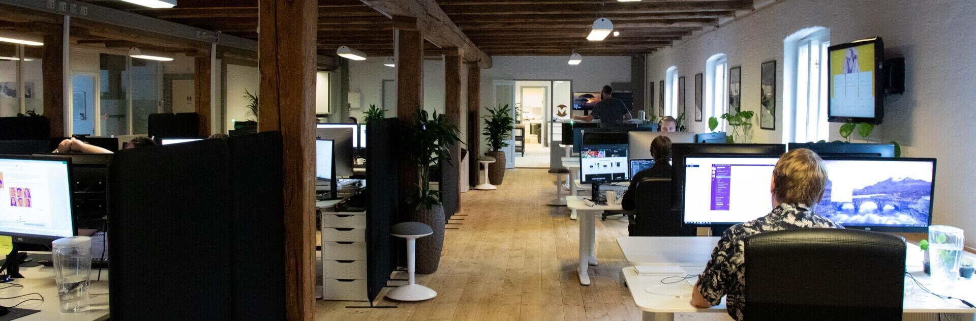 Morningtrains kontor i Odense har erfarene medarbejdere som arbejder daglit med linkbuilding