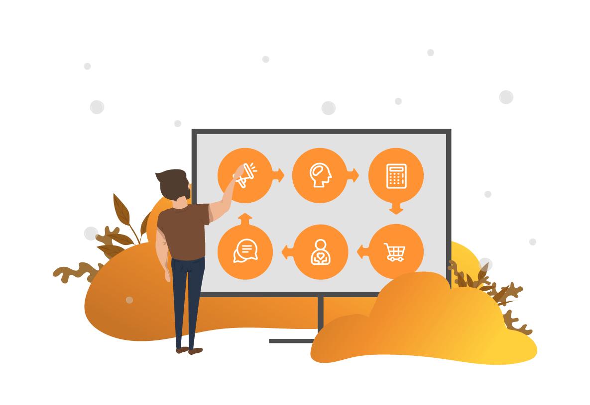 Kunderejsen i centrum: Målrettet kommunikation baseret på forbrugernes behov og data