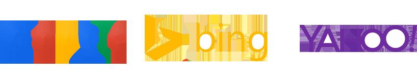 Google vinder over Bing, Yahoo og Baidu