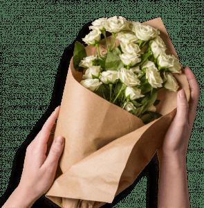 En blomsterbuket fra Bloomit