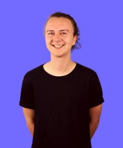 Frontend webudvikler Frederik Hauritz