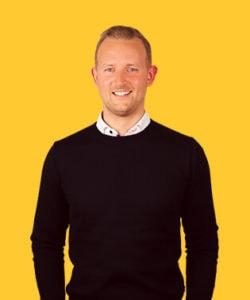 Mathias Mide er Morningtrains digital forretningsudvikler