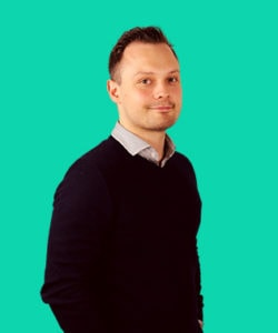 Programmeringschef og partner Niclas Johansen
