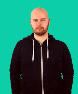 Backend-udvikler Steffen Østergaard Sørensen