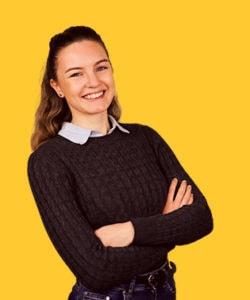 Therese Louise Hansen Digital projektkoordinator hos Morningtrain